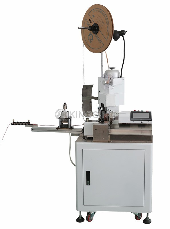 Twin Parallel Wire Stripping and Crimping Machine