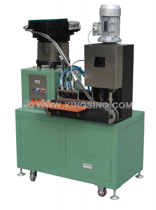 2 Pin and 3 Pin Euro Plug Crimping Machine