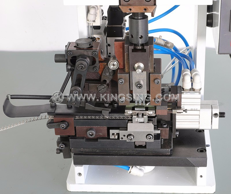 Electric Wire Stripping and Crimping Machine