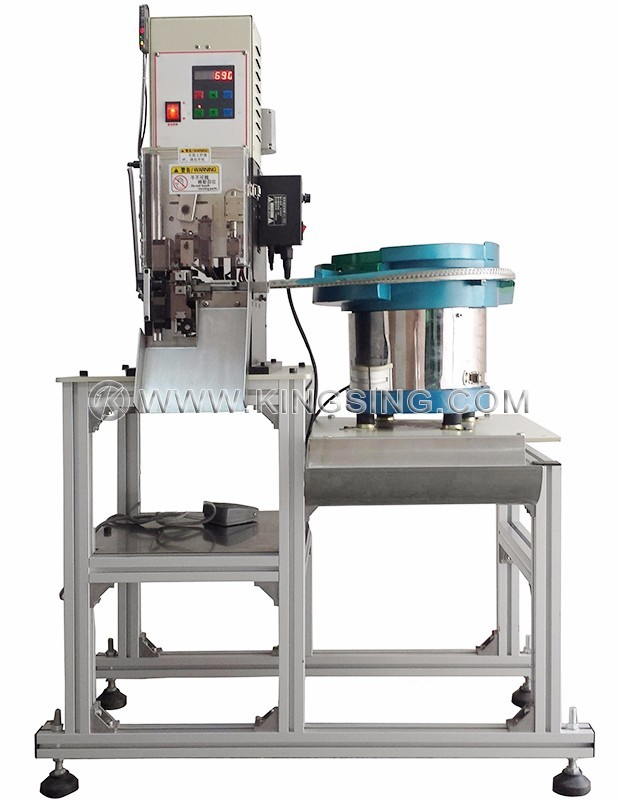 RJ11/RJ45 Cable Stripping and Crimping Machine