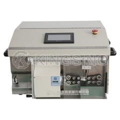 Fully Automatic Coaxial Cable Cutting and Stripping Machine