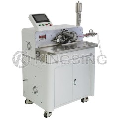 Automatic Wire Stripping Twisting and Soldering Machine KS-W113