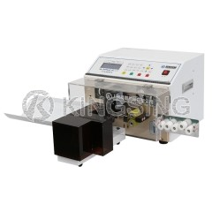 Fully Automatic Double Wire Stripping and Twisting Machine