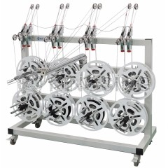 Multi-spool Wire Dereeler With Brake Control System