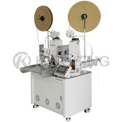 Fully Automatic Wire Cutting Stripping Crimping and Seal Loading Machine