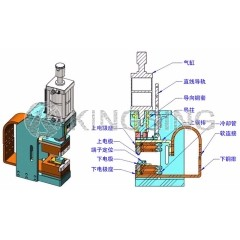 Terminal Hot Crimping Machine for Magnet Wires