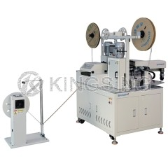 Automatic Ribbon Cable Crimping Machine