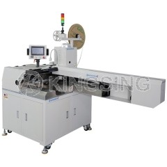 Flat Ribbon Cable Stripping Crimping and Tin Soldering Machine