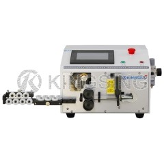 Automatic Wire Bending and Stripping Machine