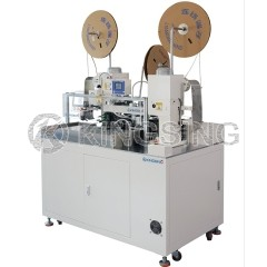 Automatic Multi-core Cable Stripping and Crimping Machine