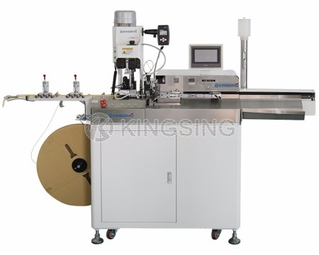 Wire Stripping Crimping and Tin Soldering Machine