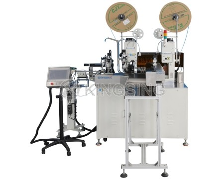 Automatic Terminal Crimping and Housing Insertion Machine