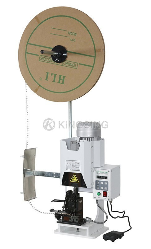 Semi-automatic Terminal Wire Crimping Machine