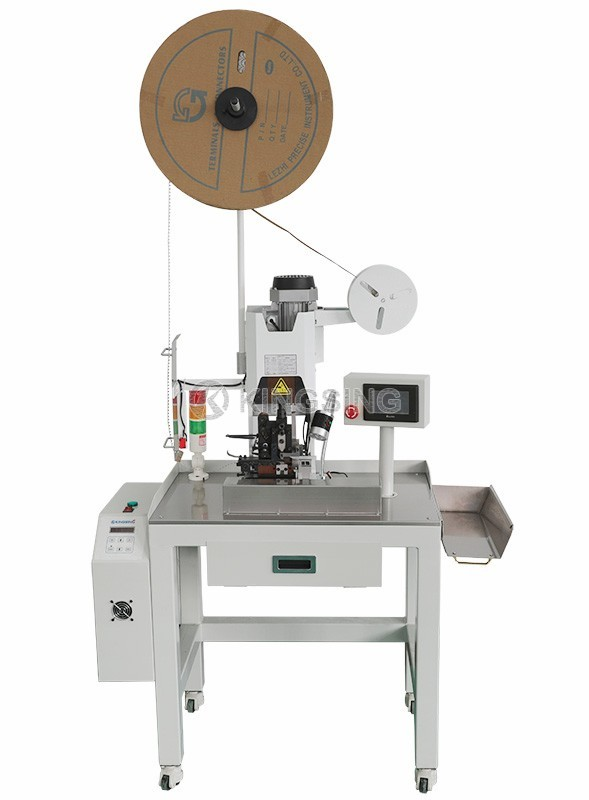 Ribbon Cable Crimping Machine