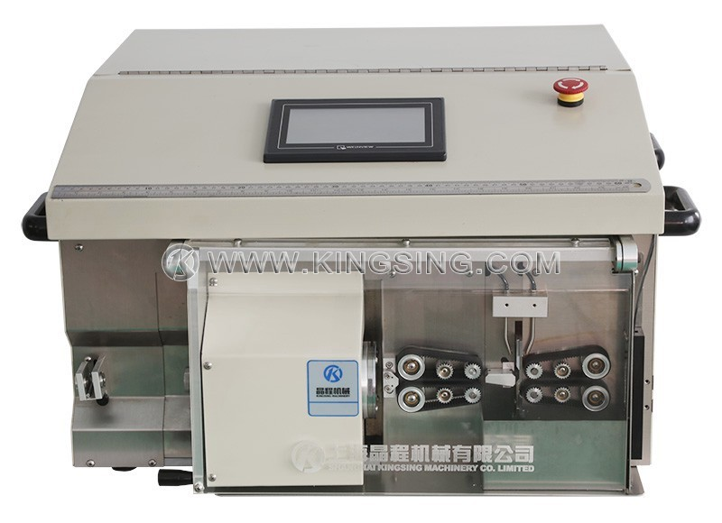 Automatic Coax Cable Cutting and Stripping Machine