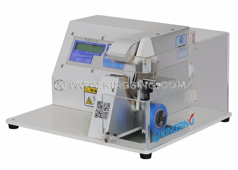 Wire Harness Taping Machine on capacitor labeling, power supply labeling, safety harness labeling, cable labeling, control panel labeling, hose labeling,
