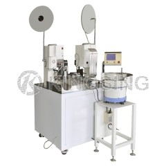 Automatic Wire Stripping Sealing and Crimping Machine