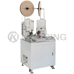 Automatic Two-sided Terminal Crimping Machine