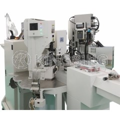 Automatic Wire Crimping Machine With Sealing Station