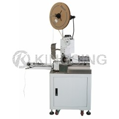 Fully Automatic Wire Stripping and Crimping Machine
