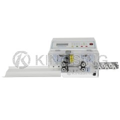 Double Wire Cutting and Stripping Machine