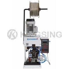 Wire Stripping and Crimping Machine for Straight Feeding  Terminal