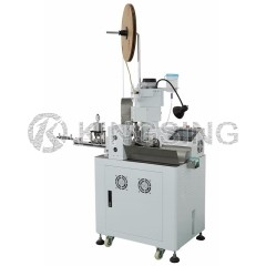 Parallel Twin Wire Stripping Crimping and Tin Soldering Machine