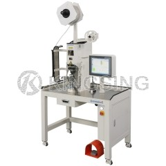 Terminal Crimping Machine with Crimping Force Monitor