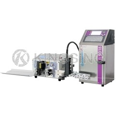 Automatic Wire Stripping and Inkjet Marking Machine