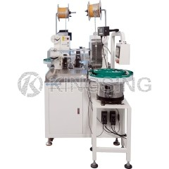 Automatic 2-sided Terminal Crimping and Housing Insertion Machine