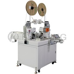 Automatic 5 Wires 2-Sided Terminal Crimping Machine
