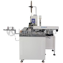 5 Wires Stripping Tinning Crimping and Housing Insertion Machine
