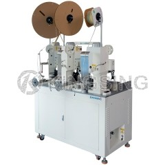 Three Ends Two Wire Combined Crimping Machine