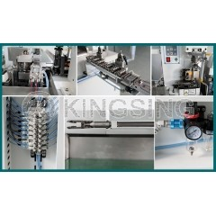 Fully Automatic 2-side Crimping Machine with Twisted Pair Function