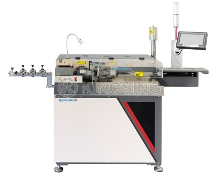 Automatic Wire Stripping Twisting and Tin Soldering Machine