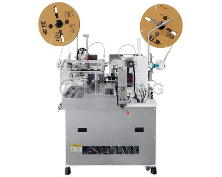 Automatic 2-sided Wire Stripping and Seal-crimp Machine