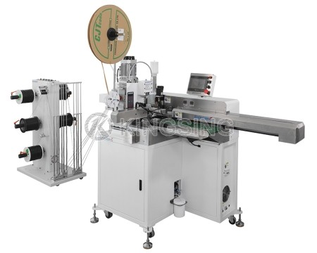 Automatic Wire Stripping Tinning and Crimping Machine